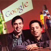 Google-Gründer Larry Page und Sergey Brin: Die Konkurrenz weit hinter sich gelassen