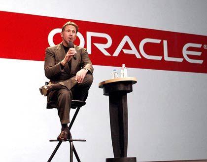 """""""Ich leiste einen Beitrag zur Konsolidierung der Firmensoftware-Industrie"""" Oracle-Chef Larry Ellison"""