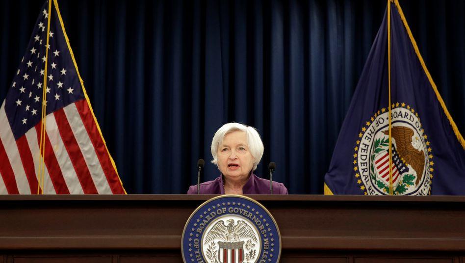 Fed-Chefin Janet Yellen: Dritte Zinserhöhung in diesem Jahr wohl im Dezember