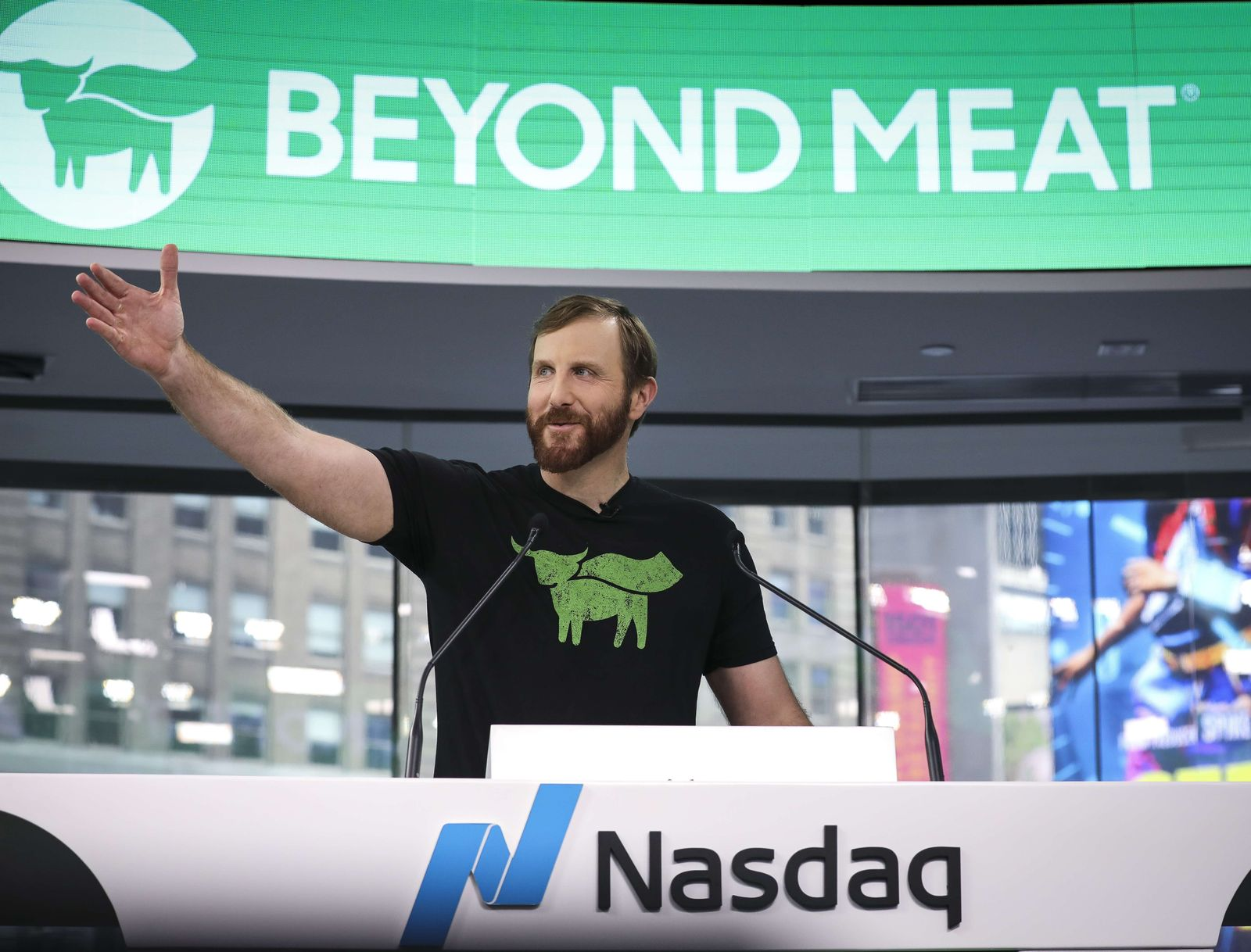 US-MEATLESS-BURGER-COMPANY-BEYOND-MEAT-GOES-PUBLIC-ON-NASDAQ-EXC