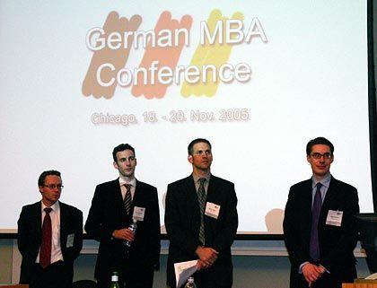 Heimattreffen: Zur German MBA Conference werden alle deutschen MBA-Studenten in den USA eingeladen