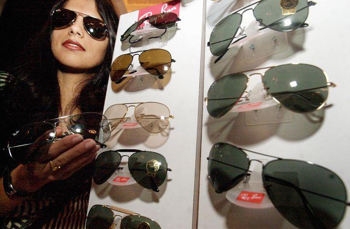 """Hübsch und nützlich: Die Sonnenbrille """"Aviator"""" von Ray-Ban wurde ursprünglich für Army-Piloten entwickelt"""
