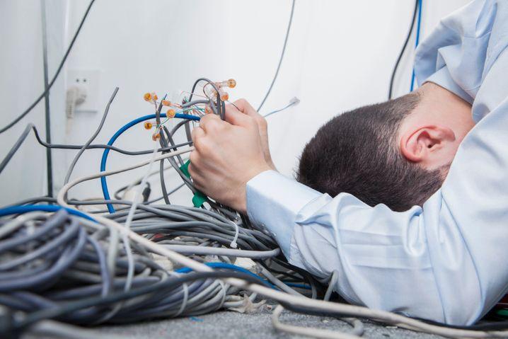 Kabelsalat: Die Pflege eines Intranets darf nicht nur Aufgabe der Firmen-IT sein
