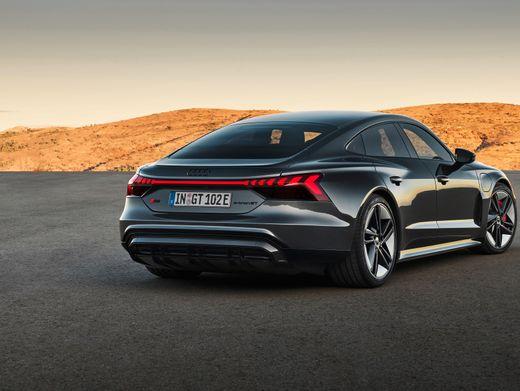 Audis Angreifer: Der Stromverbrauch lag knapp über Teslas Model S, aber er kommt nicht annähernd so weit