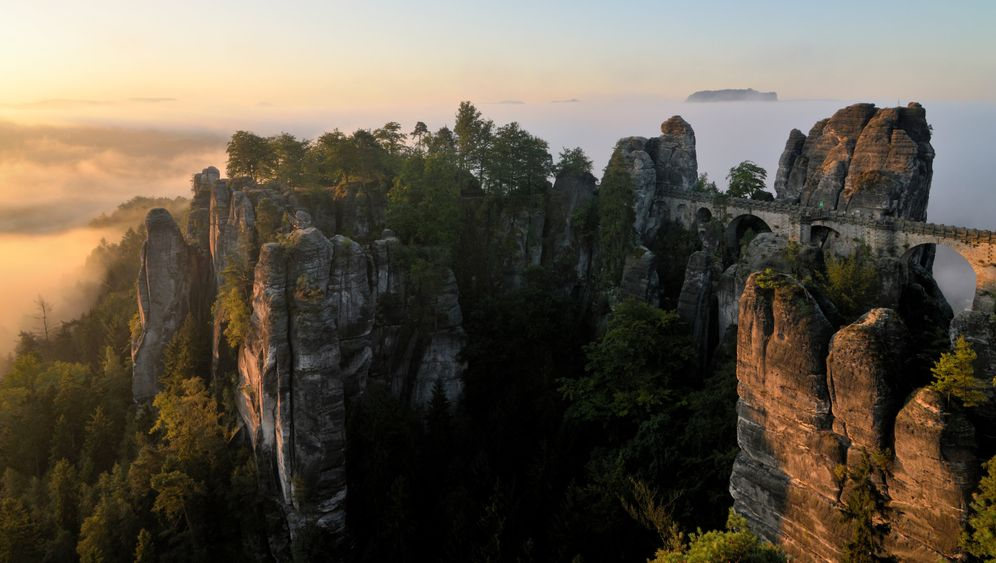 Sächsische Schweiz: Der Weg nach oben lohnt sich