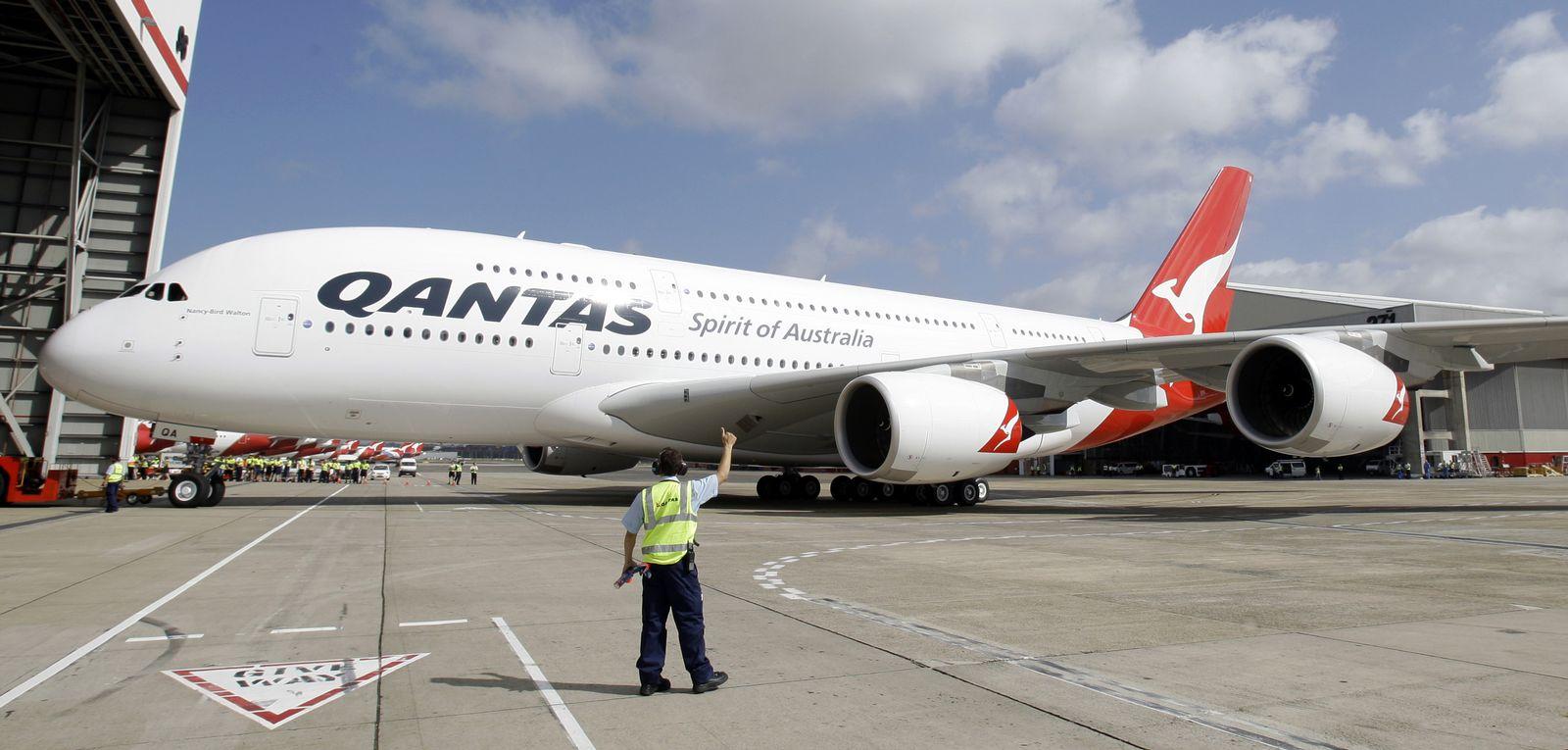 Quantas A380