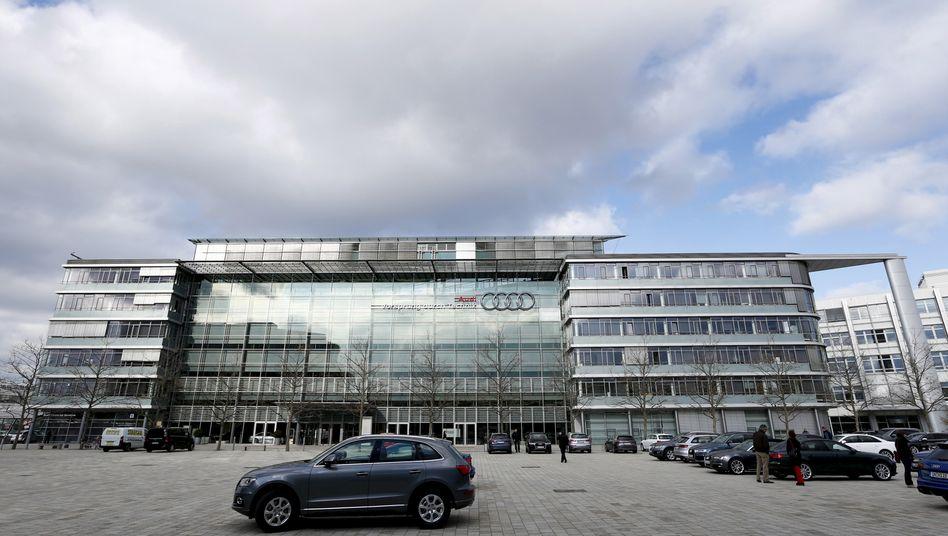 Audi-Hauptquartier in Ingolstadt