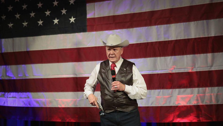 Wahlkämpfer Roy Moore in Alabama