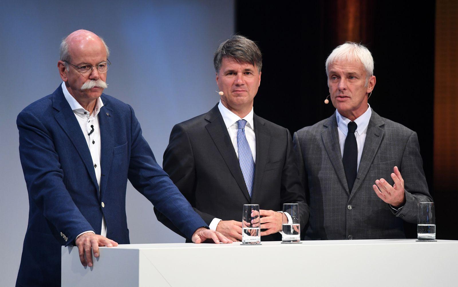 Dieter Zetsche / Harald Krüger / Matthias Müller