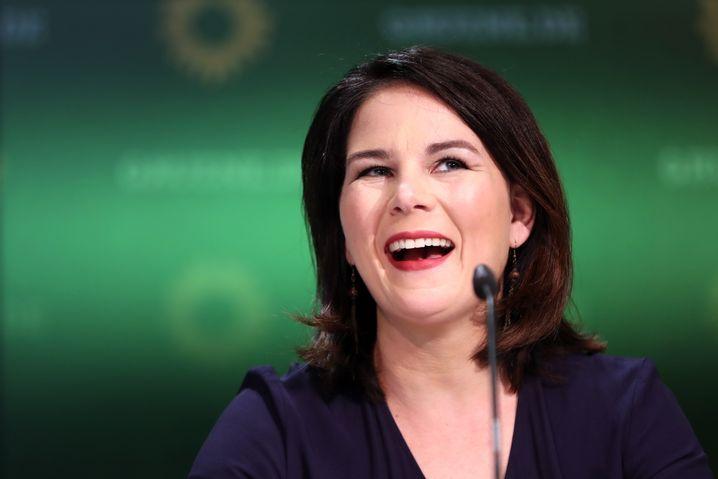 Die Frau, an deren Legende jetzt Profis arbeiten: Annalena Baerbock, Kanzlerkandidatin der Grünen