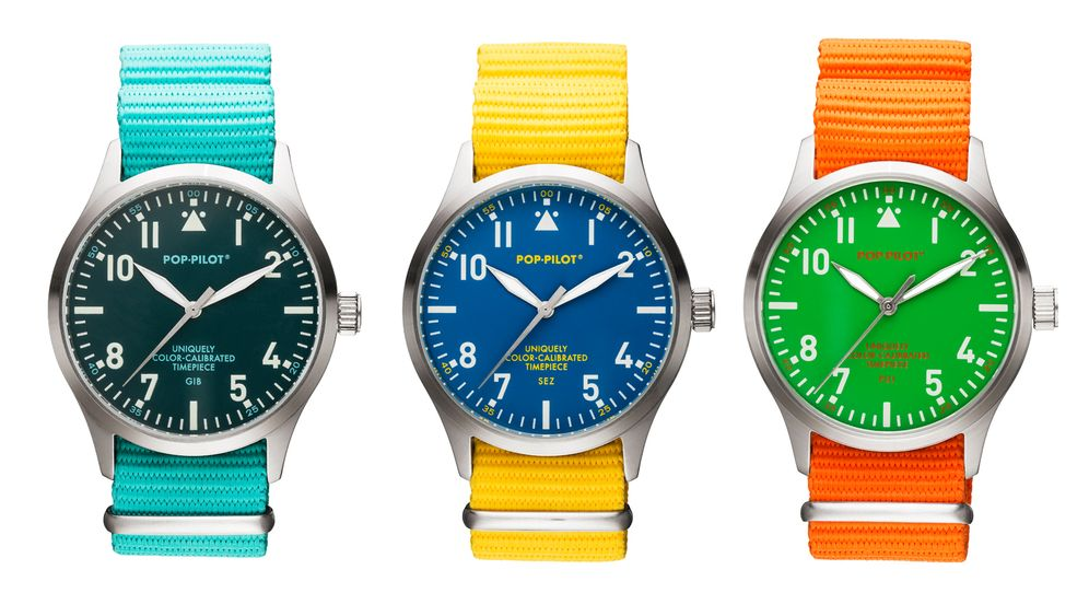 """Gefälschter """"Pop-Pilot"""": Chinesen kopieren Uhren - und die Werbung gleich mit"""