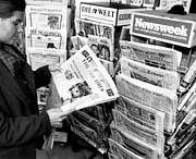 Bisher keine größeren Einbußen: Presseerzeugnisse