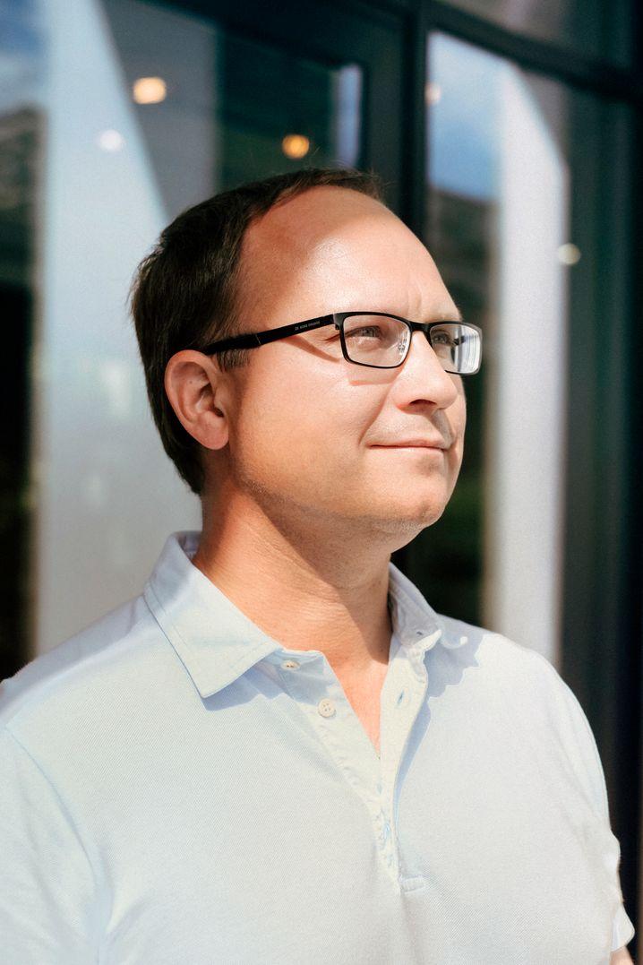 """""""Einfach ist es sicher nicht"""": Milliardär Ronald Slabke will sein Unternehmen kulturrevolutionieren."""