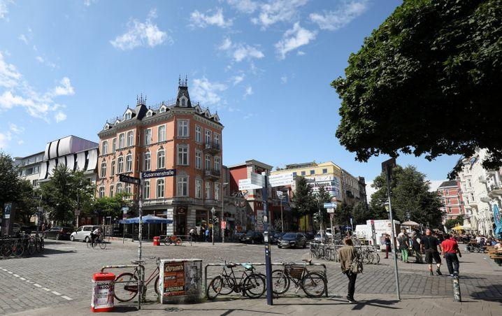 Bei Tageslicht: Das Schanzenviertel ist Hamburgs hippe Alternative zur Partymeile Reeperbahn.