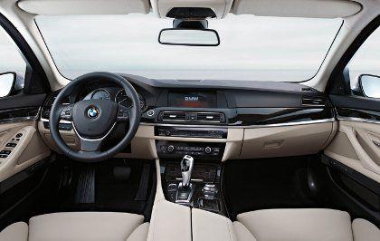 Kernmodell: Der neue 5er von BMW macht auch von hinten eine gute Figur
