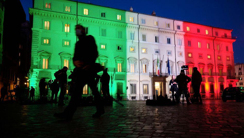 Regierungskrise in Italien: Im Streit um die Verwendung der EU-Milliardenhilfen ist die Regierungskoalition in Italien geplatzt