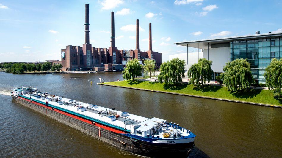 Heizkraftwerk am VW-Stammsitz Wolfsburg: Gas statt Steinkohle soll Millionen Tonnen CO2 einsparen