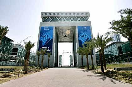 Ehrgeizig: Auch im Finanzbereich will Dubai Größe zeigen, hier das Hauptgebäude des Dubai International Financial Centers