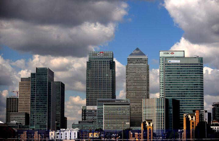 Bankenviertel in London: Auch für die Fintechs eine Heimat?