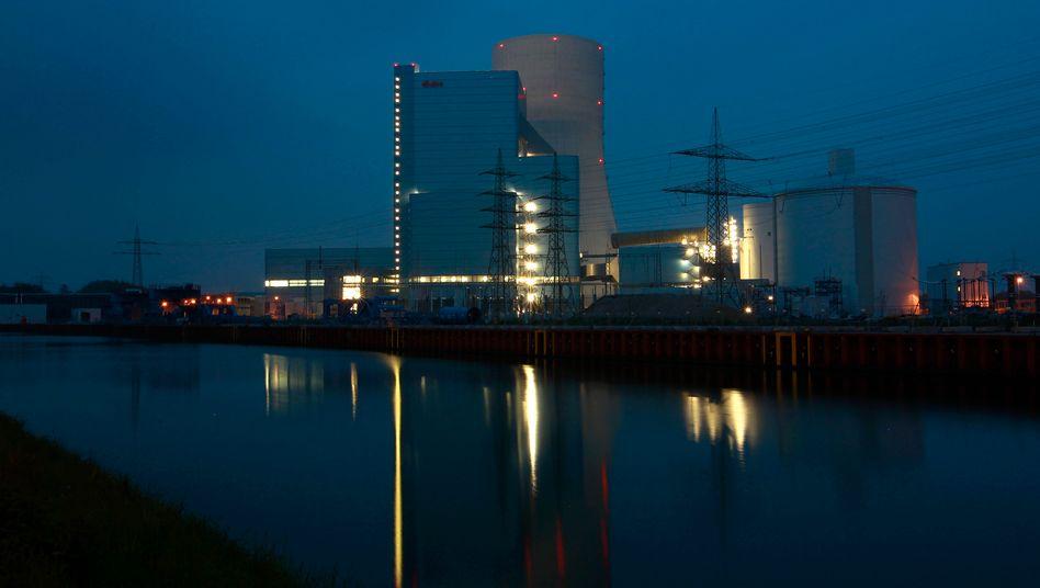 Problembaustelle: Das Eon-Kraftwerk Datteln 4 droht eine milliardenschwere Investitionsruine zu werden