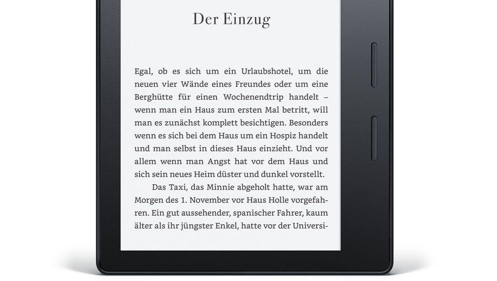 Superflacher E-Reader von Amazon: Das ist der neue Kindle Oasis