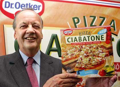Pizza-König: August Oetker mit Tiefkühlprodukt, das im Ausland gut läuft