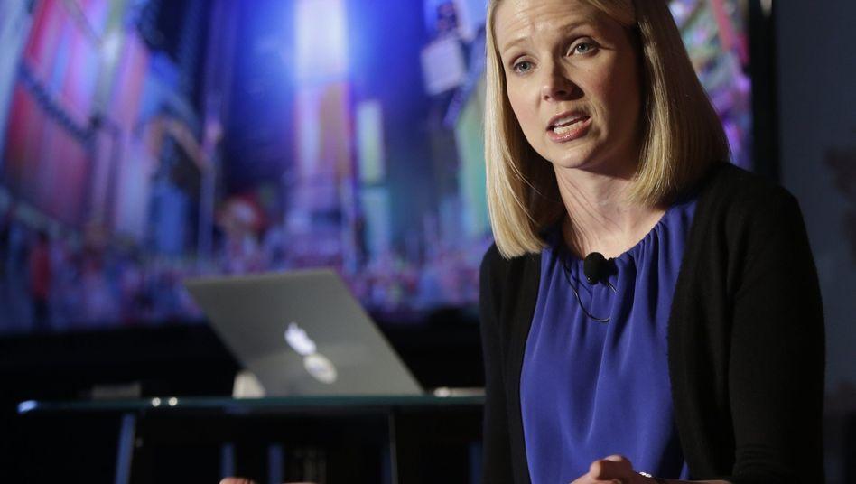 Yahoo-Chefin Marissa Mayer: Verkauf des Kerngeschäfts würde eine Kehrwende darstellen