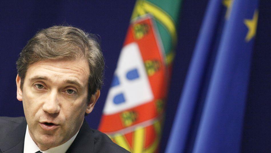 Berlin-Besuch als Verkaufsshow: Der neue Ministerpräsident Pedro Passos Coelho