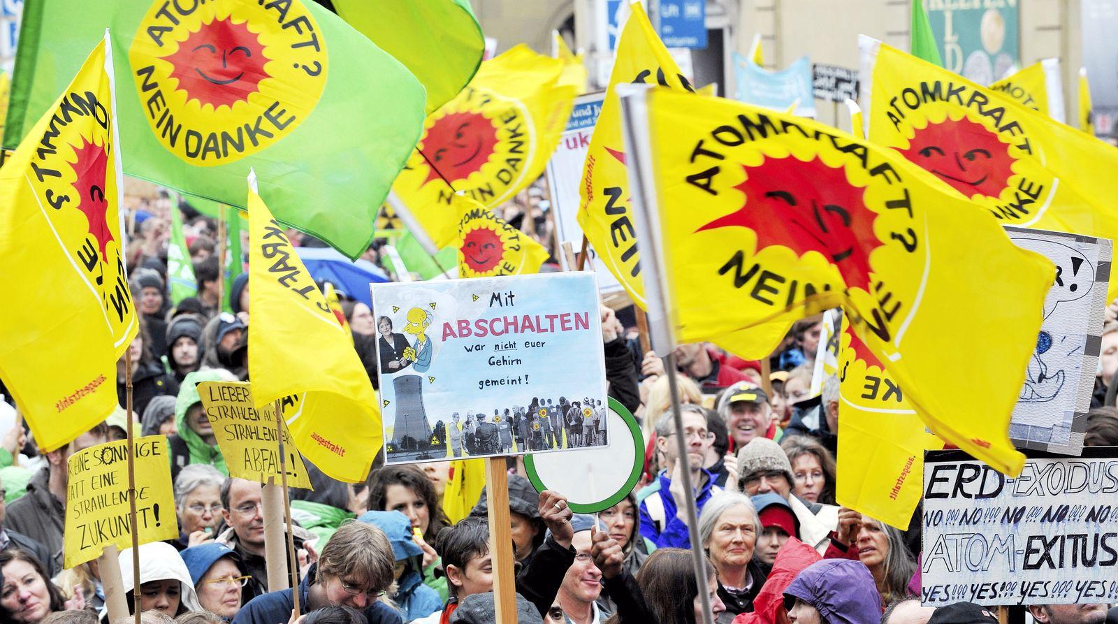 Anti-Atom-Demo München