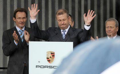 Ende einer Ära: Der langjährige Porsche-Chef Wiedeking tritt ab