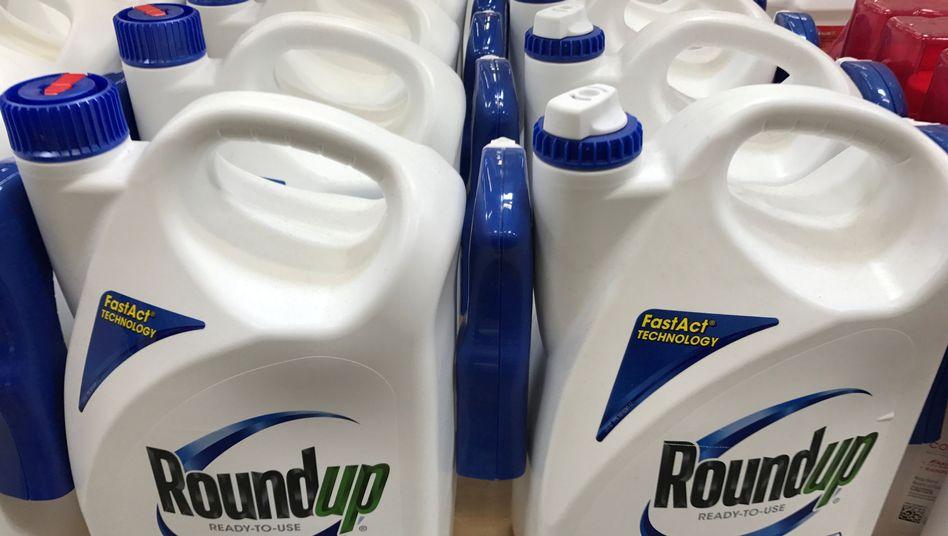 Der Unkrautvernichter Roundup von Monsanto, der neuen Bayer-Tochter.