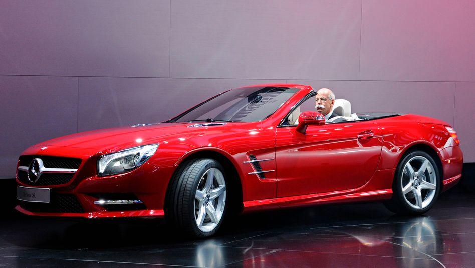 Dieter Zetsche: Der Daimler-Chef will erheblich mehr Fahrzeuge verkaufen