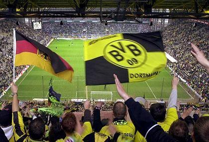 Die Fans wollen den Erfolg:Anhänger von Borussia Dortmund