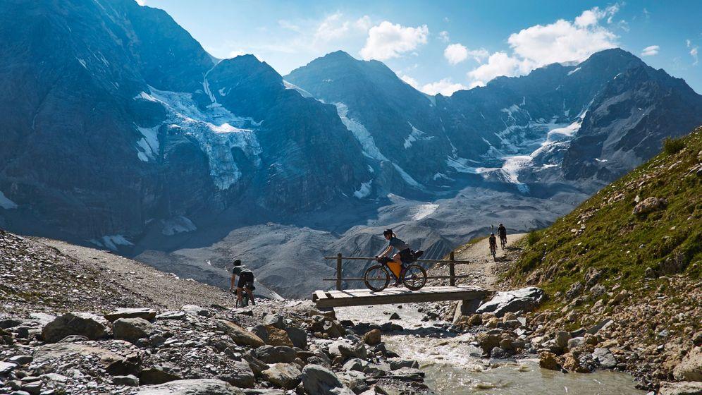 Ortler-Alpen: Ein Eldorado für Alpinisten und Bikepacker