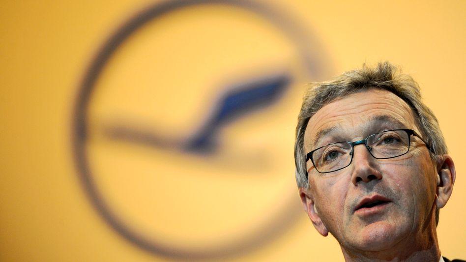 """Lufthansa-Chef Wolfgang Mayrhuber: """"Europäer können mit technologischen Lösungen einen besseren Beitrag bieten als mit immer strikterer Regulierung"""""""
