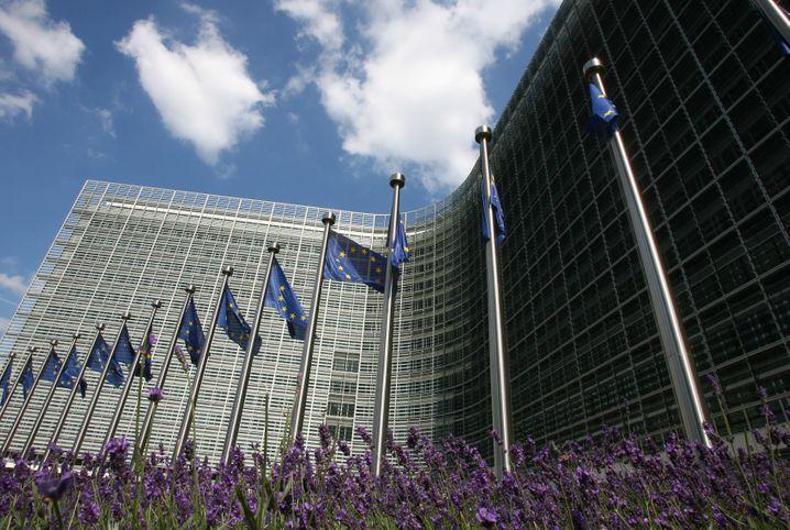 EU-Kommissionssitz: Hier wirkt Burson-Marsteller für Uber