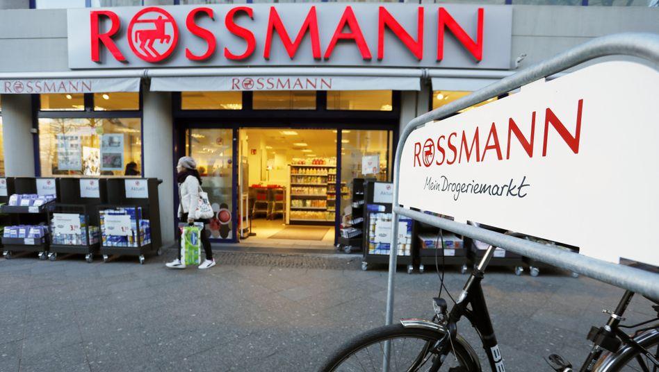Rossmann-Filiale in Berlin: Die Drogeriekette konnte ihren Umsatz auch in der Krise steigern