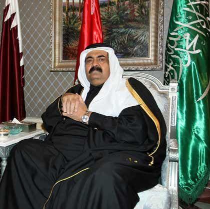 """""""Den richtigen Zeitpunkt finden"""": Emir Hamad Bin Khalifa Al Thani"""