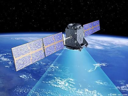 Brüsseler Träume: Galileo, hier im Modell dargestellt, soll dem US-System GPS Konkurrenz machen