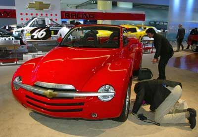 Noch'n neuer Mix: Beim Chevrolet SSR paaren sich Pickup und Sportwagen