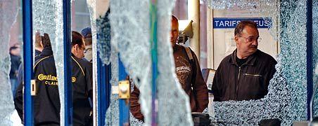 Vorgestern Clairoix, heute Hannover? Teile des vor der Schließung stehenden französischen Continental-Werks wurden von wütenden Mitarbeitern demoliert. Viele von werden am heutigen Donnerstag zur Conti-Hauptversammlung in der niedersächsischen Hauptstadt erwartet.