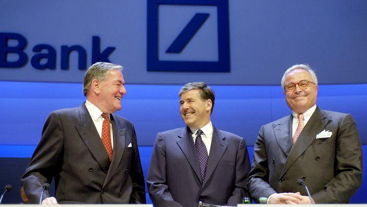 Deutsche Bank: Die Nachkriegsgeschichte der Deutschen Bank