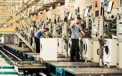 Im Sekundentakt: In der Türkei steht Europas größte Waschmaschinenfabrik