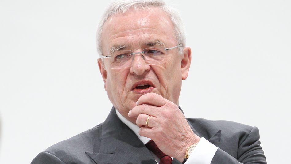 Rentner ohne Geldsorgen: Martin Winterkorn.