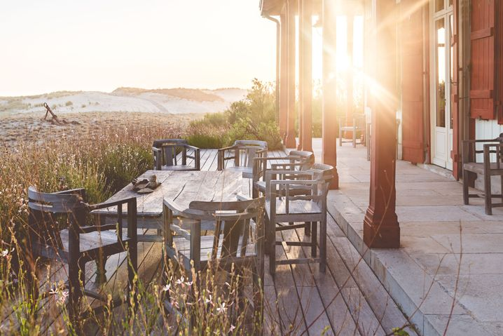 In der Luxuslodge ist man allein am Strand – und gefühlt auch auf der Welt
