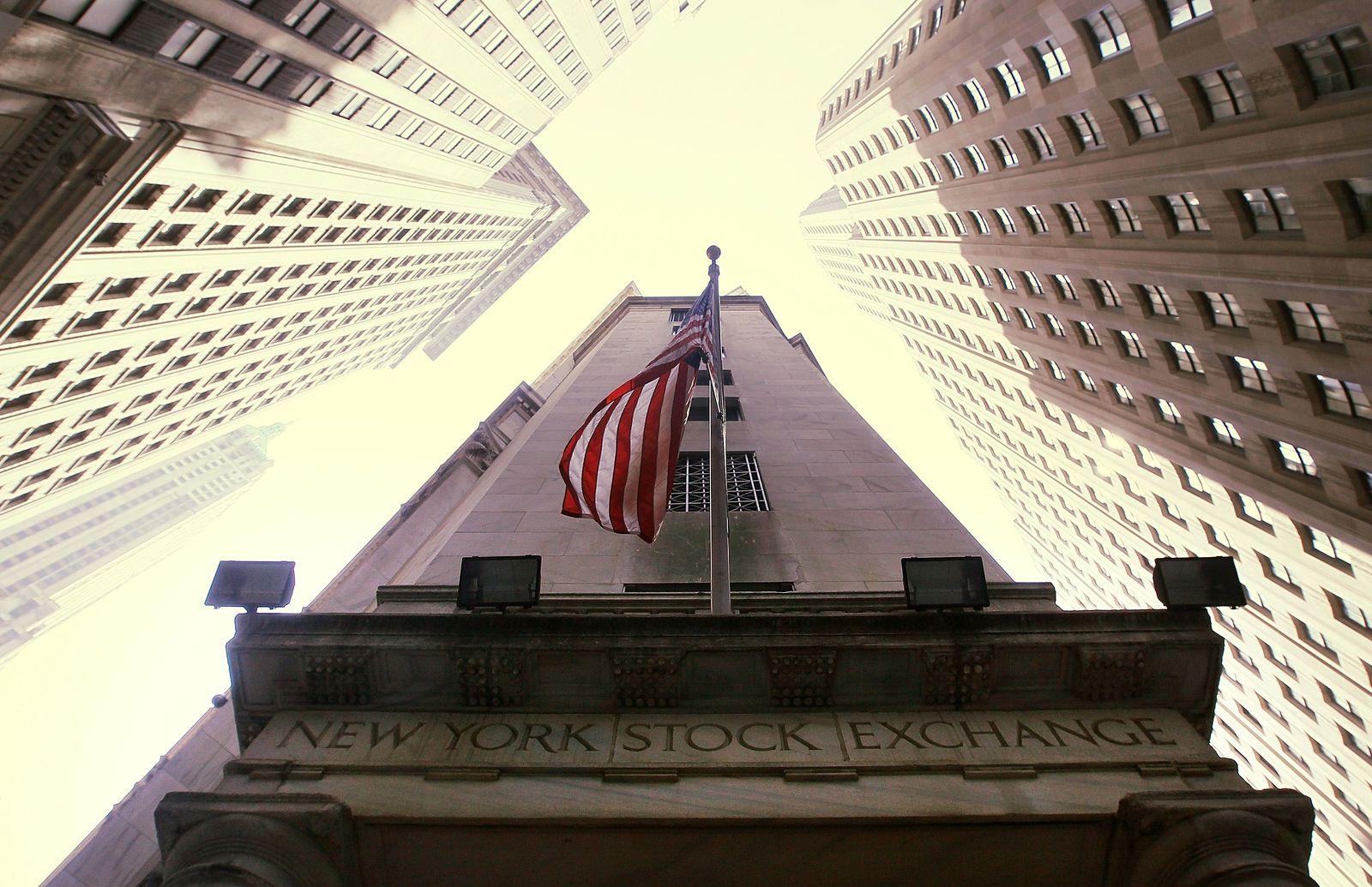 Börse New York / NYSE / Amerika Schuldenkrise