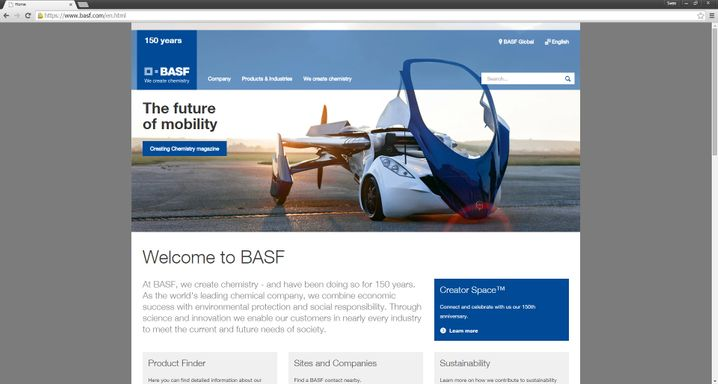 """Auch BASF überzeuge """"mit umfangreichen Inhalten und guten Services für alle Zielgruppen"""""""