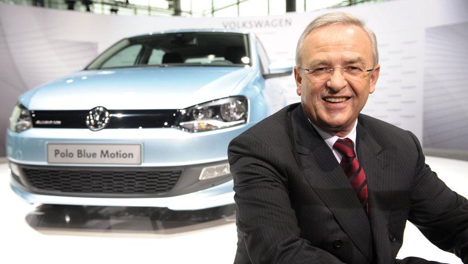 Martin Winterkorn: Der VW-Chef spekulierte über die Zukunft von Opel