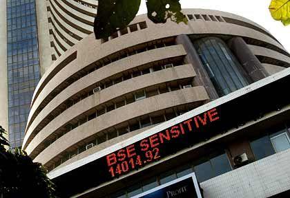 Florierende Wirtschaft:Bombay Stock Exchange