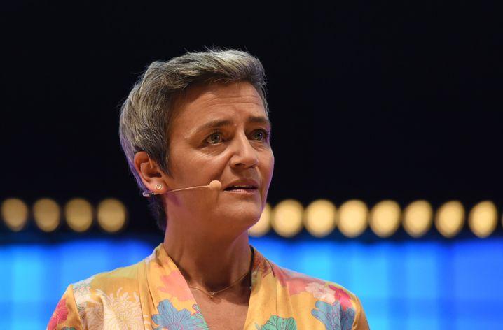 """""""Weit über die übliche Frist hinaus"""" : EU-Kommissarin Margrethe Vestager"""